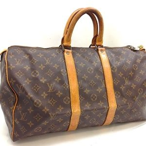 Auth Louis Vuitton Keepall 45 Travel #236L5206